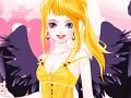 لعبة تلبيس الملاك الاسود