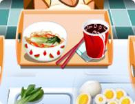 لعبة مطعم المكرونة