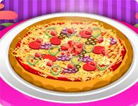 البيتزا على اصولها