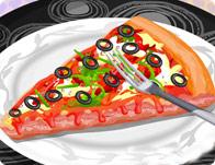 لعبة مثلث البيتزا