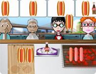 لعبة مطعم الهوت دوج التلفزيوني