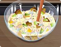 لعبة طبخ سلطة البطاطس و البيض
