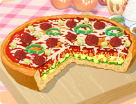 العاب طبخ بيتزا شيكاغو