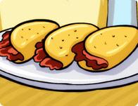 لعبة طبخ ساندوتشات اللحم