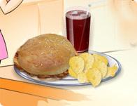 ساندوتش الدجاج المشوي