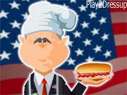 لعبة مطعم بوش
