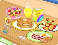 طاولة طعام الافطار