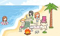 لعبة ترتيب الشاطئ