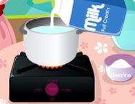 طبخ جلي الحليب