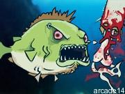 لعبة السمكة الشرسة