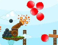 المدفع مفجر البالونات
