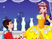 لعبة تلبيس الاميرة الرومانسية