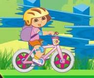 لعبة دراجة دورا