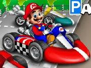 لعبة توقيف سيارة ماريو