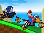 تحدي سباق ماريو و سونيك