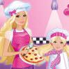 العاب طبخ بيتزا باربي