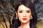 مكياج ممثلة كورية