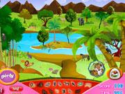 لعبة البحث عن حيوانات الغابة