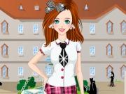 تلبيس ملابس المدرسة