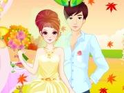 تلبيس ومكياج العروسة الرومانسية