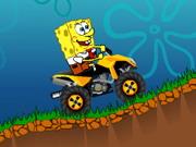 لعبة دراجة سبونج بوب النارية