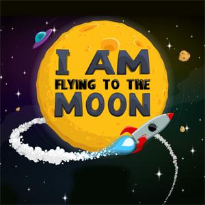 سأطير الى القمر