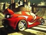السيارة الحمراء
