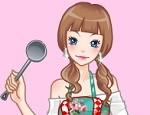 لعبة تلبيس باربي الطباخة