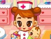 لعبة الممرضة الغصيرة