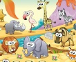الارقام المخفية في حديقة الحيوانات