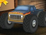 لعبة شاحنة ثلاثية الابعاد