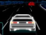 سباق سيارات النيون