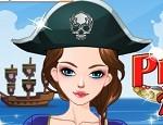 لعبة تلبيس اميرة القراصنة