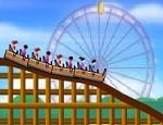 لعبة رسم قطار الملاهي