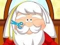 لعبه قص شعر بابا نويل