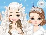 لعبة تلبيس ومكياج عروسة الثلج