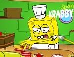 لعبة مطعم همبرجر سبونج بوب
